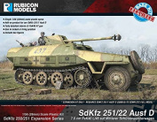 Rubicon Models SdKfz 251/22 Ausf D Expansion Set