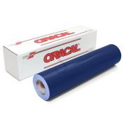 Oracal 651 Glossy Permanent Vinyl 30cm x 1.8m - Dark Blue