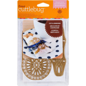 Cuttlebug A2 Cut & Emboss Die By  Anna Griffin -Eleanor Laces