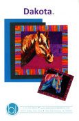 Dakota Horse Fusible Applique Quilt 90cm by 90cm Wall Hanging Pattern