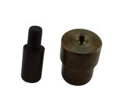 Amanaote 2.5 mm Grommet Die Setter Eyelet Mould for Hand Press Grommet Puncher Tool