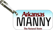 Personalised Arkansas 2013 Zipper Pull State Licence Plate Replica