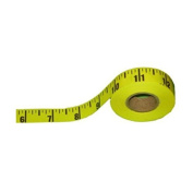 20YDS Adhesive Table Sticky Measuring Tape Ruler Read in 1/8th Inch, Left to Right Side by item4ever