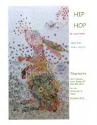 Hip Hop Rabbit Collage Wall Hanging Quilt Pattern by Fiberworks