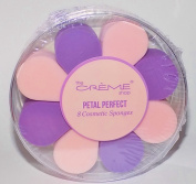 The Creme Shop Petal Perfect 8 Cosmetic Sponges