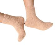 OVERMAL Mens Thick Warm Coral Fleece Slipper Non-slip Cotton Socks Floor Towel