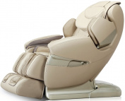 Osaki APPROLOTUSD Apex AP-Pro Lotus Massage Chair, Cream, Zero Gravity Position, Space Saving Technology, Innovative Negative Oxygen Ion Ioniser, Bluethooth Connexion to Your iPhone or Smartphone