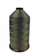 Anefil Nylon Bonded Nylon Thread 470ml Dark Silver (Grey)