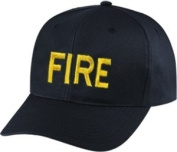 FIRE - Cap/ Hat Patch - Gold/ Black, Adjustable - Police Patch, Gaol, Prison, Corrections - Sold by UNIFORM WORLD