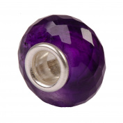 Authentic Novobeads Gemstones 7213 Faceted Amethyst