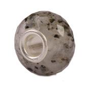 Authentic Novobeads Gemstones 7218 Faceted Pyrite