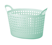Like-it SCB-8 Portable Oval Basket, Mint Blue
