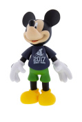 Disney Parks 2017 Mickey Mouse Articulated Toy Figure