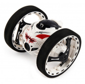 Rukiwa SJ88 2.4GHz RC Bounce Car Shock Resistance Flexible Wheels Speed Switch