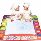 Activity Play Toys, LOVELYIVA 8060cm Water Drawing Painting Writing Mat Board Doodle Gift With Magic Pen