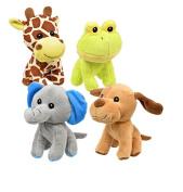 Fuzzy Friends Plush Animals