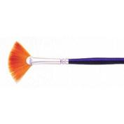Size 10/0 Fan Golden Taklon La Corneille Series 7200 Artist Paint Brush by Loew Cornell