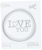 Technique Tuesday Just Love Seal Stamps, 5.1cm by 6.4cm , Clear