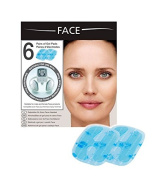 Slendertone Women's Face Replacement Pads (Pack of 6) - Transparent