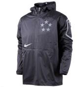 Nike 635430-010 Field General Fly Rush Half-Zip Pullover Jacket Mens Sz S
