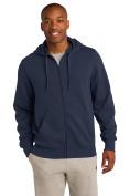 Sport-Tek Men's Tall Full Zip Hooded Sweatshirt