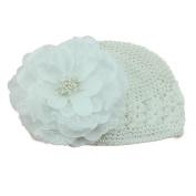 Creazy Newborn Baby Flower Cotton Hat Beanie Toddler Girls Photography Props