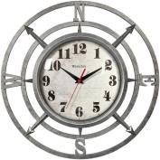 """WESTCLOX 32021C 36cm """" Round Compass Wall Clock Home, garden & living"""