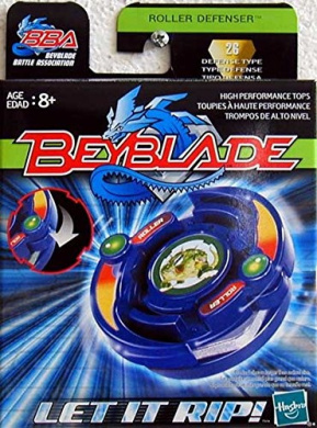 Hasbro 82588 - Beyblade - ROLLER DEFENSER - Defence Type 26 - incl. Launcher & Ripcord