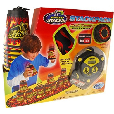 Speed Stacks Speed Stacks: StackPack - Black Flames Edition