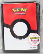 Ultra Pro Pokemon Poke Ball Deck Protectors Sleeves (65 count) Standard Size