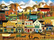 Buffalo Games Pete's Gambling Hall by Charles Wysocki Jigsaw Puzzle