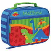 Personalised Stephen Joseph Dinosaur Lunch Box with Embroidered Name