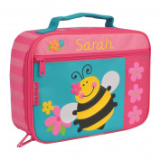Personalised Stephen Joseph Bee Lunch Box with Embroidered Name