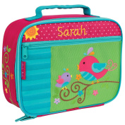 Personalised Stephen Joseph Bird Lunch Box with Embroidered Name
