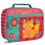 Personalised Stephen Joseph Fox Lunch Box with Embroidered Name