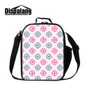Dispalang Floral Insulated Lunch Cooler Bags for School Pretty Lunch Box Bags for Girls