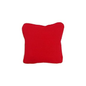 Pillow Red With Green Eco Friendly Insert 12 x 12