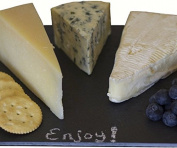 Bella Vita BVAKTSLATE12X8 Slate Cheese Tray 12 x 8