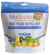 Bluapple® with Activated Carbon One-Year Refill Kit