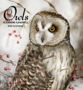 Chappell/Owls  2018 Wall Calendar