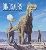Mark Hallett/Dinosaurs 2018 Wall Calendar