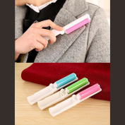 Portable Lint Remover Dust Cleaning Brush Roller Lint Fluff Fabric Pet Hair Fabric Cloth(Random