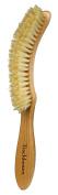 Bürstenhaus Redecker Natural Pig Bristle Table Hand Brush with Oiled Beechwood Handle, 23cm