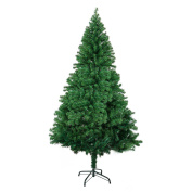 Christmas Tree Hinged Metal Stand PVC Aritifical Plant Holiday Decoration