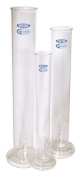 Vee Gee 21000-1000 Hydrometer Jar, 1L Capacity, Used with Hydrometers Up to 385 mm Length, Borosilicate Tubing