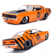 Jada 1:24 Bigtime Muscle Autozone Exclusive 1969 Chevy Camaro Orange