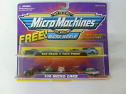 7563.2lob Toys MicroMachines Micro World #14 Micro Cars 65130