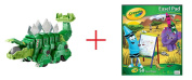 Dinotrux Garby and Crayola Easel Pad - Bundle
