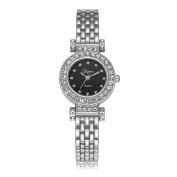 Sunbona Women Fashion LVPAI Luxury Elegant Stainless Steel Bracelet Quartz Wrist Watches Ladies Dress Gift Watches