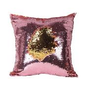 Doinshop Fashion Sequins Mermaid Pillow Covers Magical Colour Changing Pillowcase
